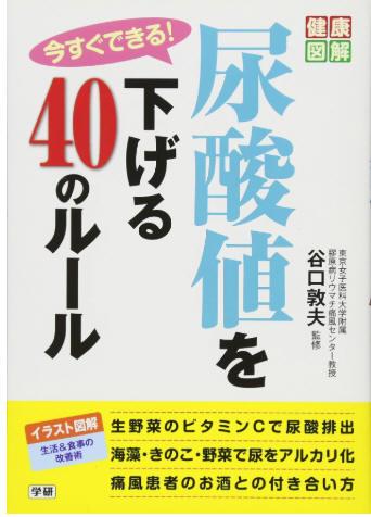 尿酸値を下げる40のルール